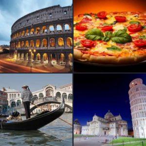 4 слова 1 ответ - Италия
