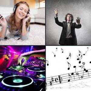 4 слова 1 ответ - Музыка