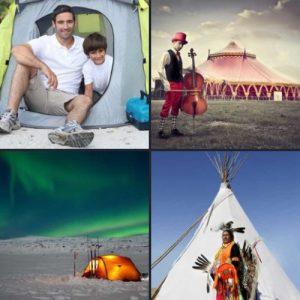 4 слова 1 ответ - Палатка