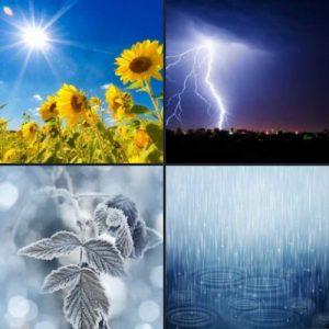 4 слова 1 ответ - Погода