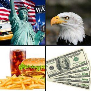 4 слова 1 ответ - США