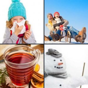 4 слова 1 ответ - Зима